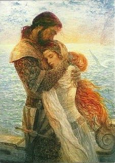 Sigh ... a Knight and his Lady http://pinterest.com/pin/200058408417272632/repin/