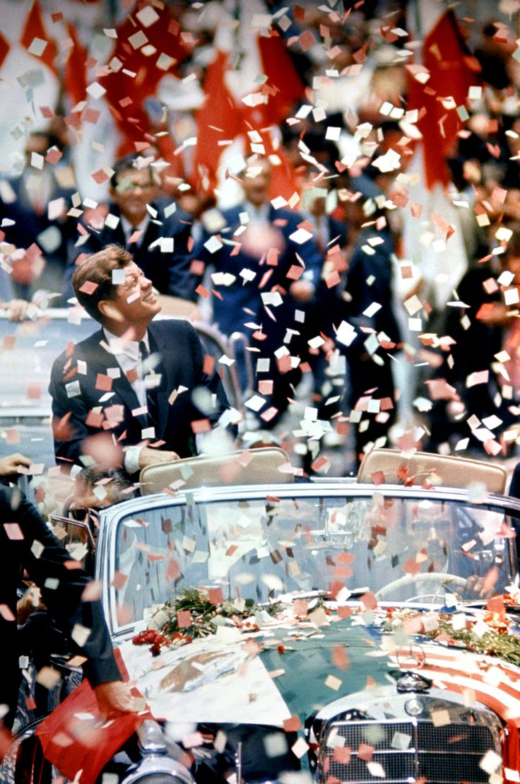 JFK: John Kennedy, Ticker Tape, U.S. Presidents, Vintage Photography, God Blessed, Presidents Kennedy, John Domini, Tape Parade, Presidents John