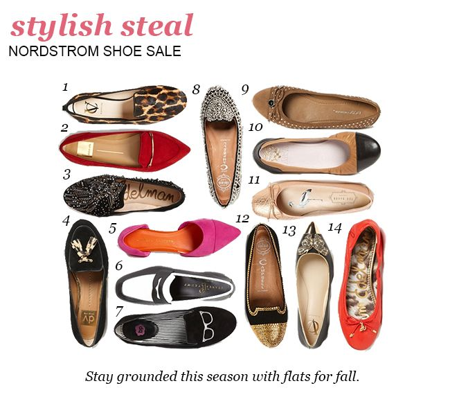 Flats for fall from the Nordstrom Shoe Sale