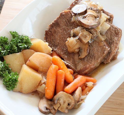 Easter Sunday Pot Roast {Electric Pressure Cooker Recipe} | Welcome to Peggy Under Pressure
