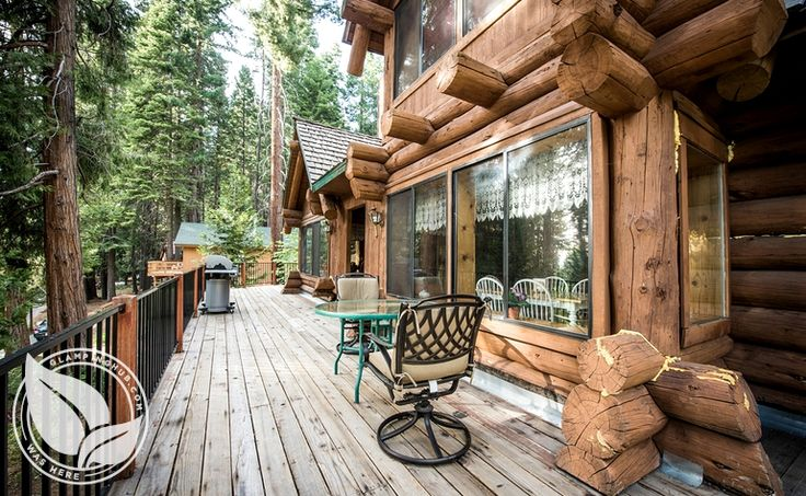 Log cabin in yosemite 30 minutes inside park from south for Yosemite national park cabin rentals