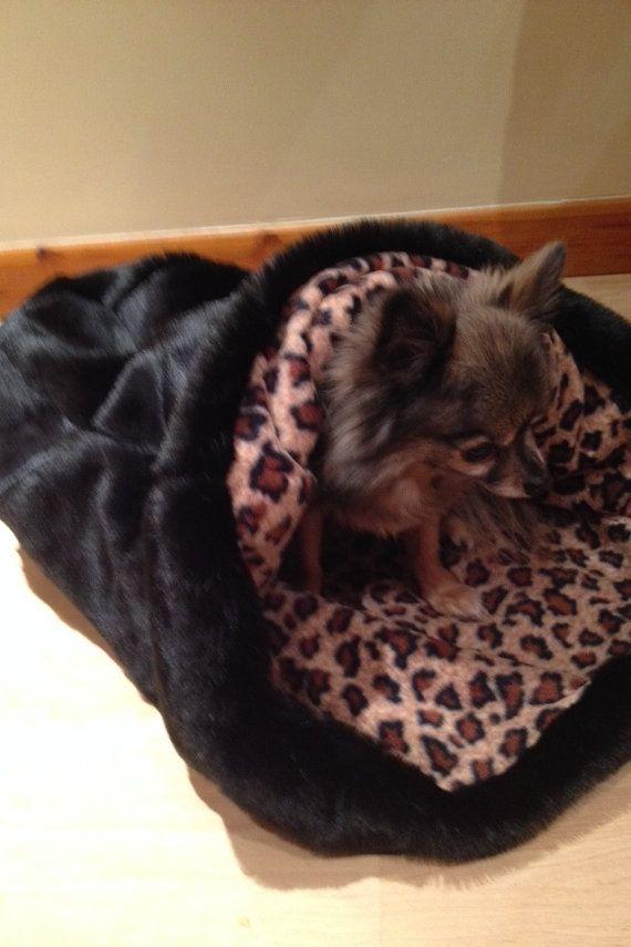 Snuggle Sack Dog Pet Chihuahua Bed Chihuahua Bed