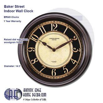 ERGO Baker Street Wall Clock