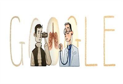 """Oggi il Doodle di Google è dedicato a Laennec, l'inventore dello stetoscopio. Del suo """"avversario"""" dell'epoca (il """"medico di corte"""" Broussais non c'è…  -  salvo fedele - Google+"""