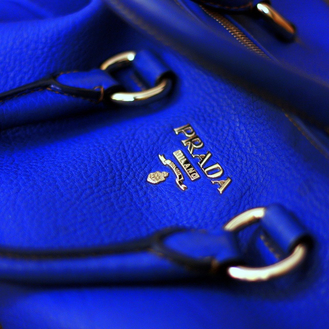 Prada royal blue, don't mind if I do!