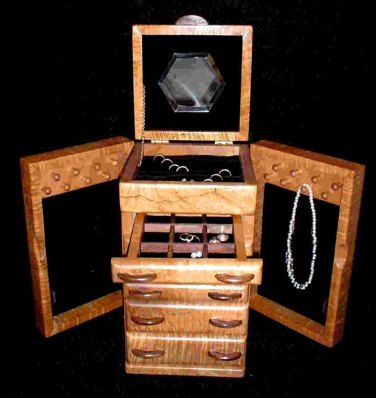 Best Wooden Jewelry Boxes: 17+ Best Ideas About Wooden Jewelry Boxes On Pinterest