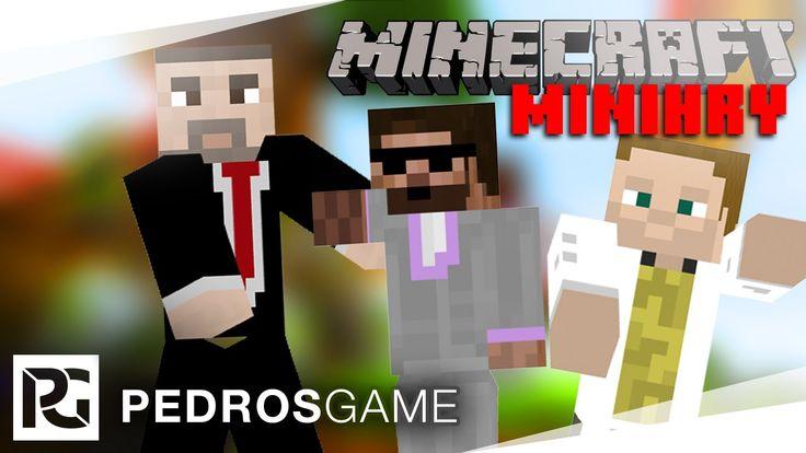 Pedro, GEJMR a House | Minecraft minihry - ŽIVĚ