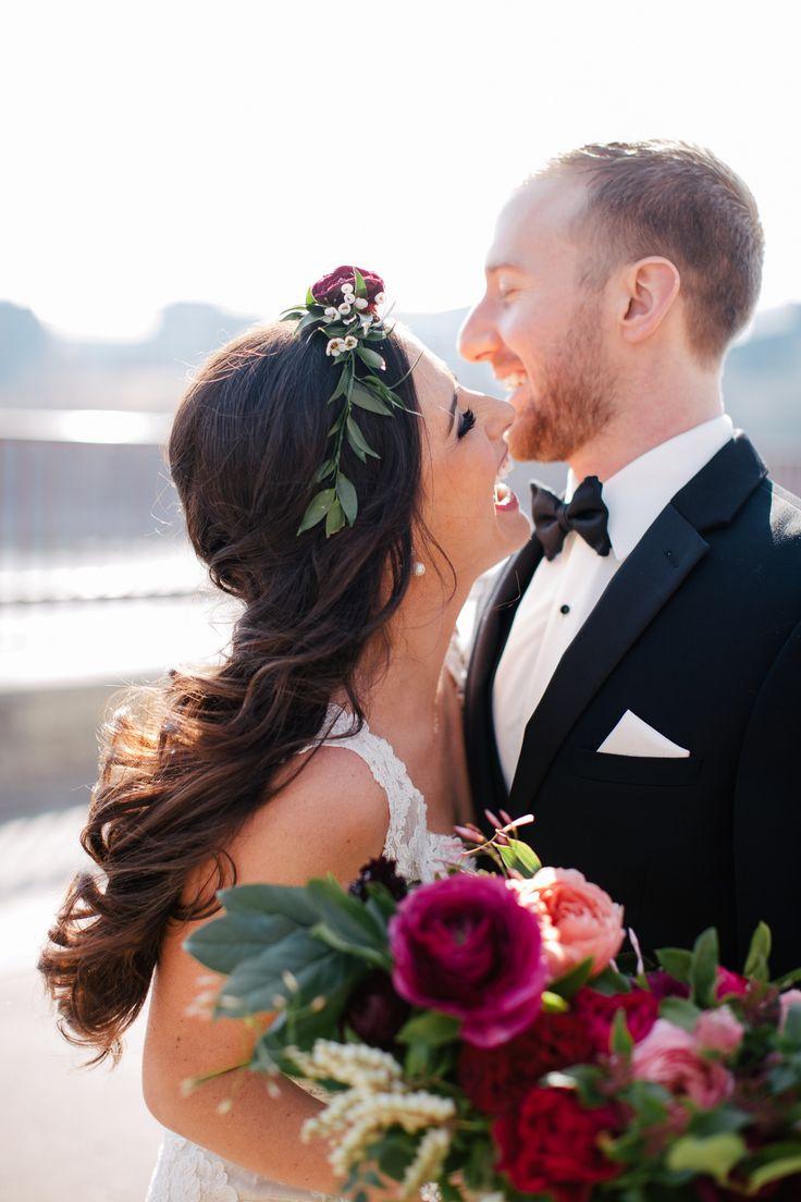 Nicollet Island Pavilion Floral Elegance Wedding. Early spring wedding inspiration - Photos by Plaid Poppy Co. Minneapolis Wedding Photographer Natural and Candid Wedding Portrait Inspiration