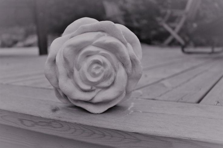 Väldigt vacker ros, kraftig - Uffes Gjutformar