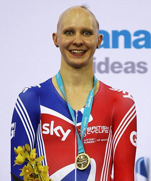 British cyclist Joanna Rowsell became a hero to many people experiencing Alopecia last weekend when she won two gold medals at the UCI World Cup. The 23-year-old twice appeared on the winner's podium without her trademark wig, and afterwards revealed how her condition spurred her on to success after losing all her hair aged just ten. (http://www.belgraviacentre.com/blog/olympic-cycling-hopeful-joanna-rowsell-on-how-alopecia-motivated-her-to-gold/)