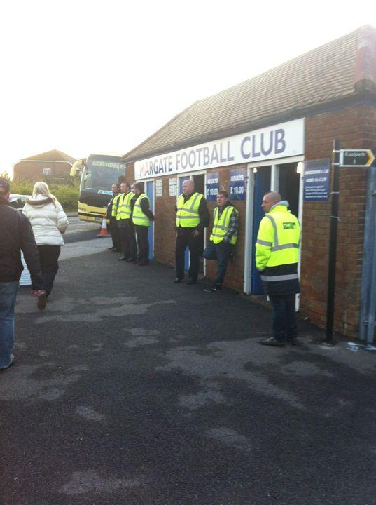 Margate Football Club in Margate, Kent