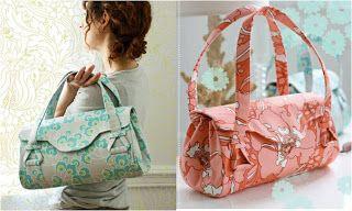 Jour de Patron gratuit: sacs à main, sacs à main et sacs à glissière
