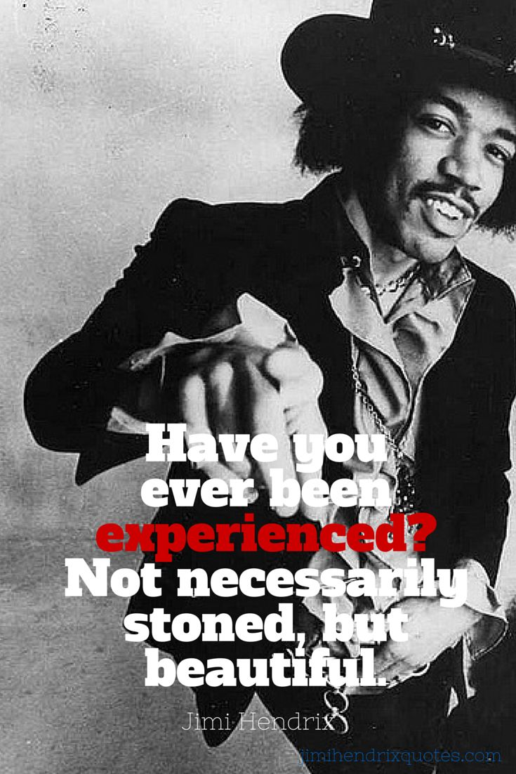 Jimi Hendrix Quotes Fascinating 7 Best Jimi Hendrix Quotes From Songs Images On Pinterest  Jimi
