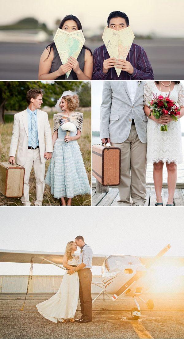 свадьба в стиле путешествий #wedding #travel
