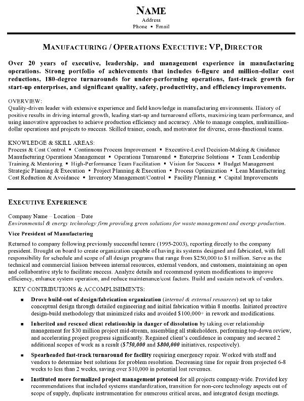 Career Resumes Resume Sample 15 Manufacturing And Operations Executive Resume 79e0c076 Resumesample Resum Engineering Resume Job Resume Samples Resume Skills