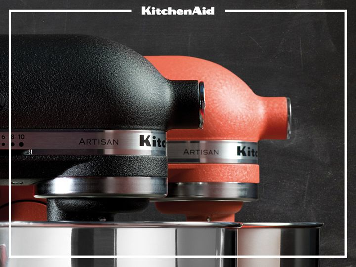 Kitchen Aid Cast Iron Black And Terracotta 2014 Stand Mixer Colours