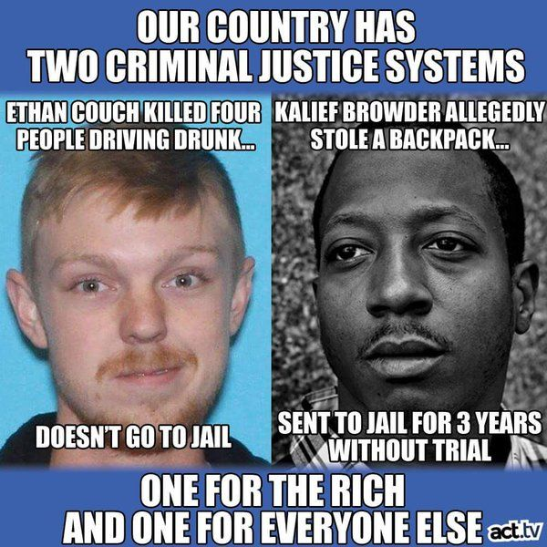 #racialdoublestandard One for the white one for the black Black power #Rise