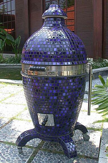 Komodo Kamado ceramic grill and smoker