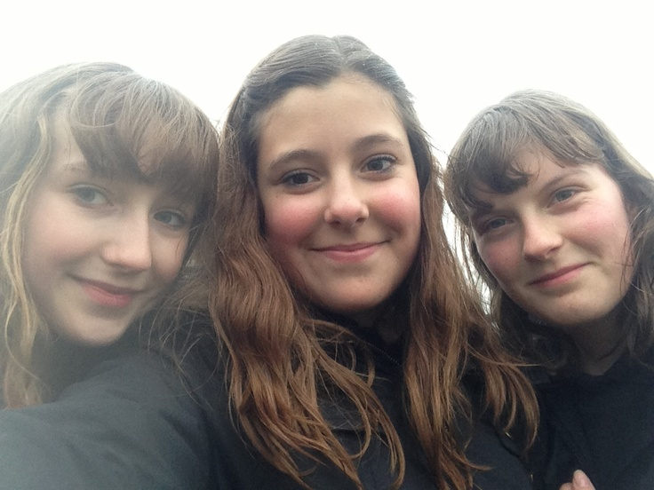 Just been out with Becky and Charlotte :)
