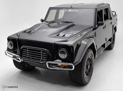 1990 Lamborghini LM002   Extensively Restored New Scorpion Tires 1 of 48 Produced Extremely Rare