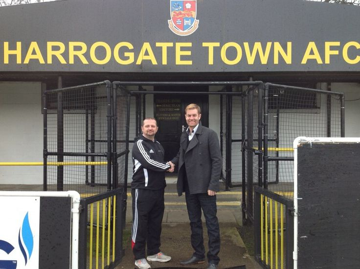 Harrogate Town Association #Football Club was founded in 1914 and currently competes in the Conference North division of the Football Conference.  Their stadium is on Wetherby Road.