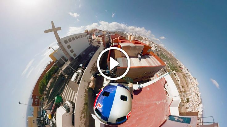 Virtual Reality Video: Danny MacAskill Shreds Rooftops with GoPro Spherical