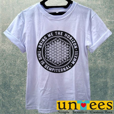Low Price Women's Adult T-Shirt - Bring Me The Horizon This is Sempite – untees