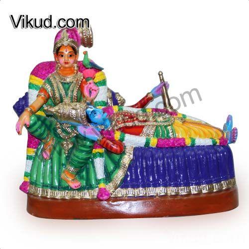 Sri Andal Rangamannar-Paper Mache Navarathri Doll