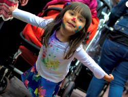 Weekend Fun for NYC Kids: Spring Fairs, Free Comics, Pixar in Concert, Holi Festival of Colors