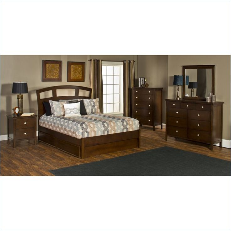 Hillsdale Metro 5 Piece Bedroom Set With Riva Storage Bed 115xbxrrs5pc