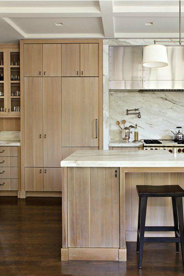 Hello Lovely Inspiration For Interiors White Oak Kitchen Modern Farmhouse Kitchens Farmhouse Style Kitchen