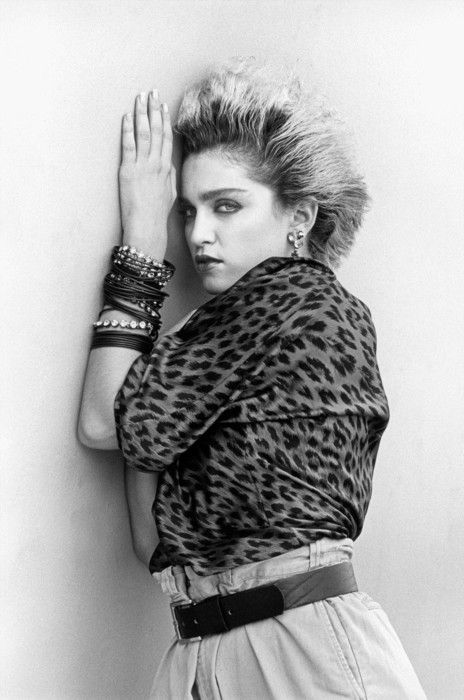 Madonna, 1983 by Steven Meisel