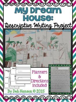 001 My Dream House Descriptive Writing Project (five