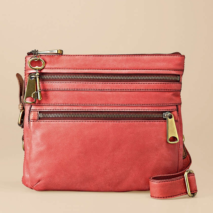 FOSSIL® Handbag Collections Explorer:Women Explorer Crossbody ZB5255 - my next purse!! <3 $178