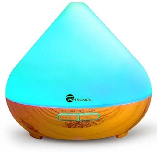 Diffuser, TaoTronics 300ml Essential Oil Diffuser With Cool Mist And 7 Colors (Portable Aromatherapy   Ultrasonic Aroma Humidifier, Mist And Light Control, Timer   Auto Shut-off). Featuring a large 300 ml water tank, the TaoTronics Essential Oil Diffuser can work continuously for 8 hours straight and provide a whole night of cool misting. | eBay!