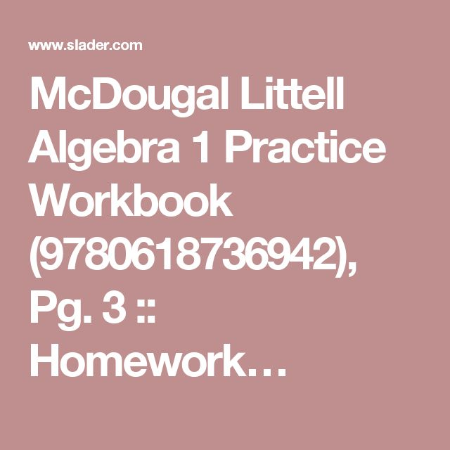 Algebra   Practice Workbook Mcgraw Hill   algebra   skills     Algebra I Chapter   Practice Workbook Answer Key
