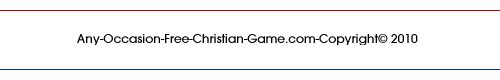 footer for free christian game page