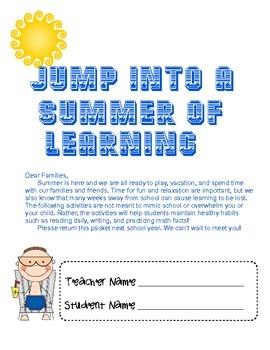 Summer homework ideas for teachers