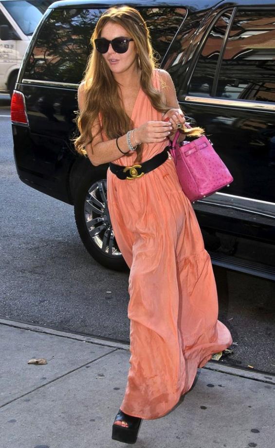 Lindsay Lohan style