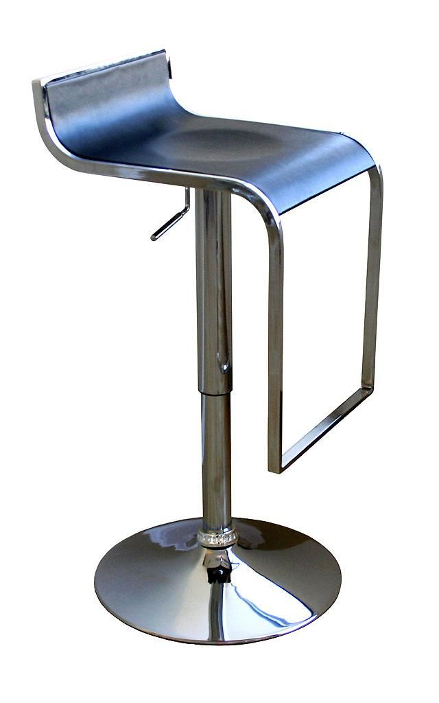 Elegant Bring A Decidedly Contemporary Look To Your Dining Room, Kitchen, Or Home  Bar Area With This Adjustable Modern Bar Stool. This Sleek Stool Is Crafted  From ...