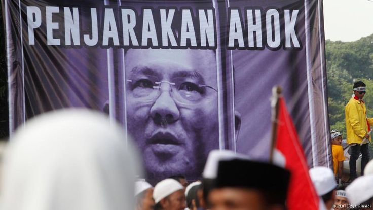 Nov. 7, 2016: Christian governor of Jakarta is under fire for allegedly breaking Indonesia's blasphemy laws. Rivals have accused Ahok of insulting the Koran, prompting protest and riots in Jakarta to call for his resignation. (Reuters) (article from DW Akademie Media/Germany.)