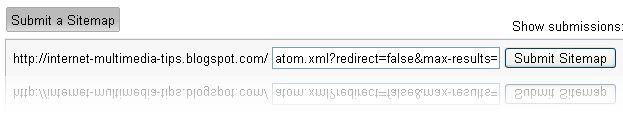 Cara Buat dan Submit Sitemap Blogger dengan Feed Atom.xml