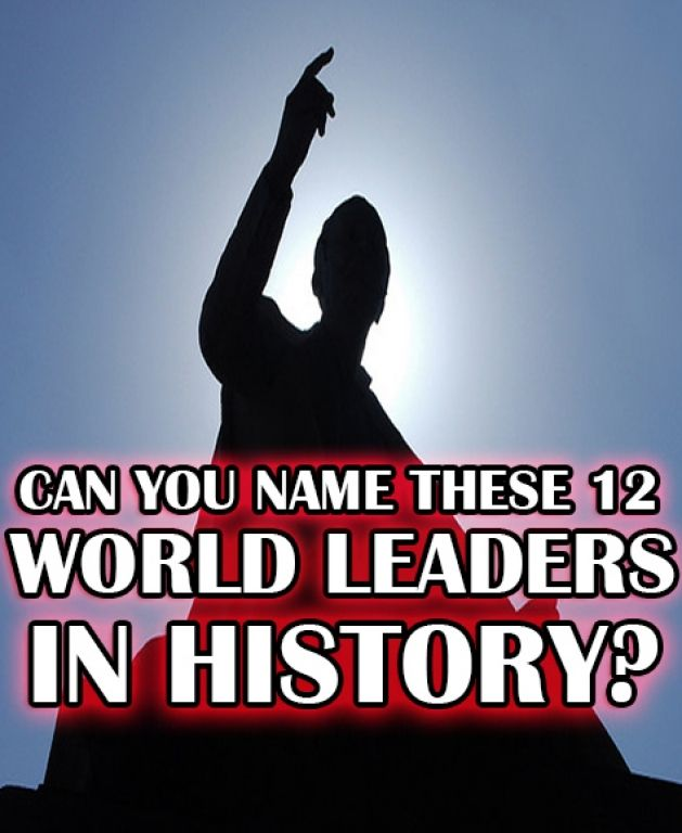 I Got Leader Lightning!!! Well done! From Winston Churchill, to Ulysses S. Grant, to Fidel Castro – you know your leaders in world history! This is no easy quiz. Though many people know a few of the easier world leaders in this test, it takes someone who has truly studied to remember leaders that span the course of history – and you did it! You must be in love with the History Channel, or maybe you have a great memory – but whatever you've done, keep it up! Think your friends and fellow…