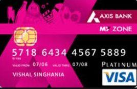 axis bank credit card deals