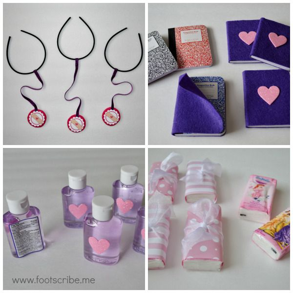 DIY Doc McStuffins Birthday Party Favor Tutorials