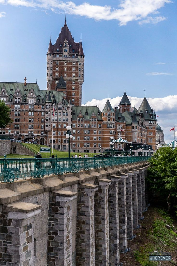 how to spend a week in quebec city