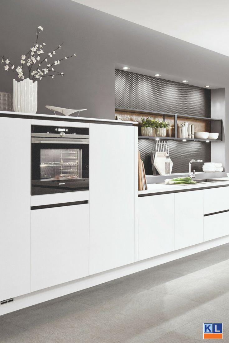 Fashion White. De naam van de keuken zegt het al. Een prachtige strakke, moderne