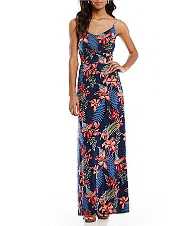 Tommy Bahama Sacred Groves Sleeveless Maxi Dress #Dillards