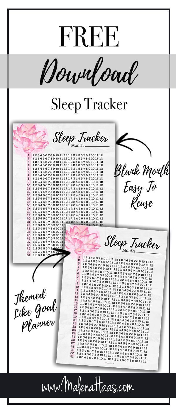 image regarding Sleep Tracker Printable known as Pin upon Planner Habit