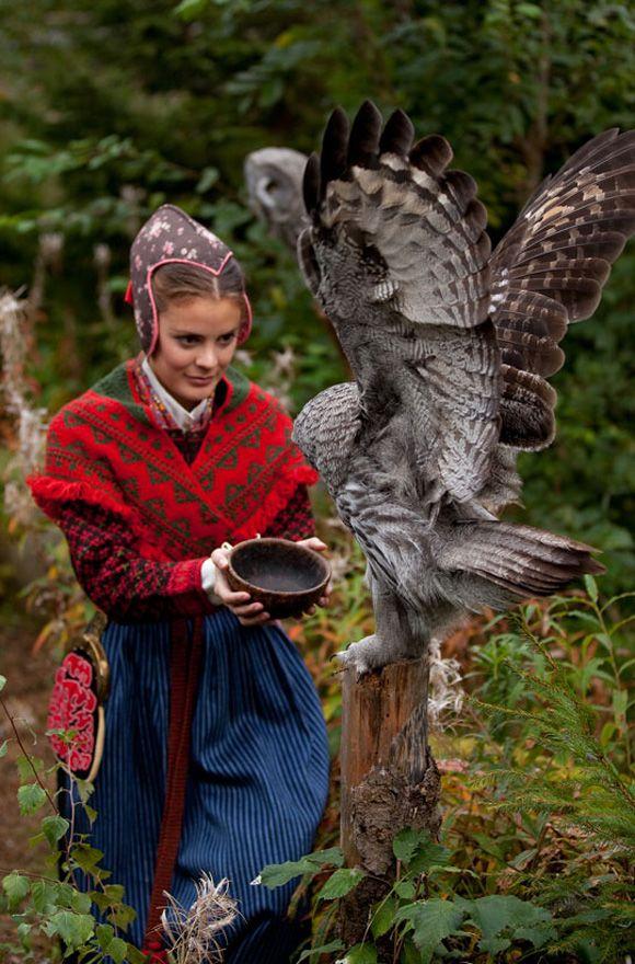 Folklore fashion, järvsödräkt.